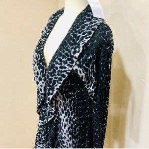NWT Soft Surrounding cheetah print  cardigan